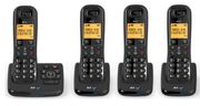SAVE £60 BT XD56 Cordless Phone with Answering Machine - Quad Handsets