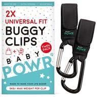 Baby Buggy Clips Universal Pram Hooks for Stroller - save 80%