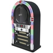 Itek Small Bluetooth Jukebox with CD Player and Radio