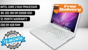 13 Inch Apple MacBook A1181 with Intel Core 2 Duo - FREE Delivery!