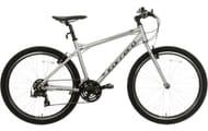 "Carrera Axle Mens Hybrid Bike - Silver - 16"", 18"", 20"" Frames"