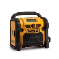 Dewalt DCR020 XR Compact Digital DAB Radio (10.8V,14.4V,18V Compatible)