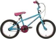 """Apollo Roxie Kids Bike - 16"""" Wheel Childrens Bicycle v Brakes BMX Style Frame"""