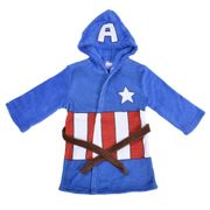 Captain America Kids Robe