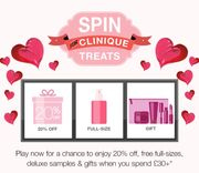 Free Gifts with Orders Over £30 at Clinique