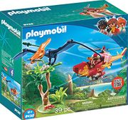 Playmobil 9430 Helicopter with Pterosaur Toy Set