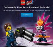 Free New Character with the LEGO MOVIE 2 Purchases over £35
