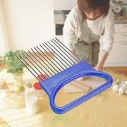Onion Holder Vegetable Potato Cutter Slicer Gadget