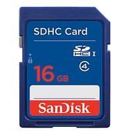 100% Genuine SanDisk 16GB Class 4 UHS-I SD SDHC Memory Card - Save 16%