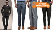 3 x Men's Trousers - FREE Delivery!