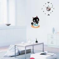 Cat Clock Wall Sticker