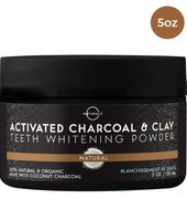 100% Natural Vegan Activated Charcoal Teeth Whitening
