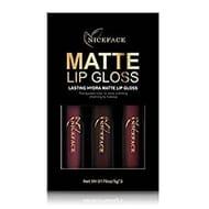 3 Colors Lasting Waterproof Liquid Lipstick Matte Lip Gloss Set