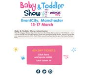 40% off Baby and Toddler Show North West