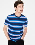 Boden Men's Wide Stripe T-Shirt - SAVE 70%