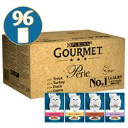 SAVE £10.40 & FREE DELIVERY. Gourmet Perle Country Medley in Jelly, 96 X 85 G