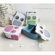School Office Portable Cartoon Cute Lunch Box Food Storage Container Bowls