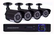 4-Channel Home CCTV Security System