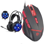 ***LIGHTNING DEAL *** Gaming Headset + Free Gaming Mouse (See Description)
