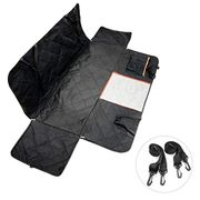 Dog Car Seat Cover Dog Travel Hammock with Mesh Viewing Window