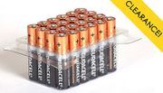 Duracell AA or AAA Batteries - Pack of 12, 24, 40, 48 or 60