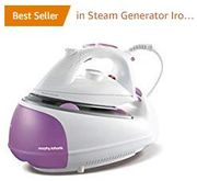 AMAZON #1 Best Seller: Morphy Richards Jet Steam Generator Iron 333020 Pink