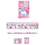 Unicorn 5 Piece Stationary Set at Amazon Only £1.95