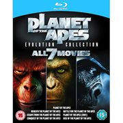 Planet of the Apes Evolution Collection Blu-Ray All 7 Movies Free Shipping
