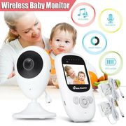 2.4 LCD Baby Monitor Camera Night Vision Audio at Ebigsale Only £31.70