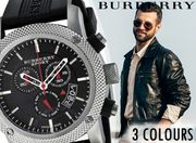 Burberry Swiss-Made Watches - 3 Designs