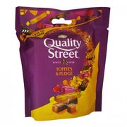 Quality Street Toffee & Fudge Pouch 93g 2 FOR £1