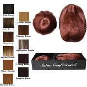 Salon Confidential Clip in Bun and Chignon - Chestnut Brown