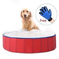Foldable Dog Pet Bath Pool Pet Swimming Tub
