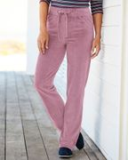 Velour Pull-on Trousers - Half Price