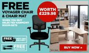 Free Chair worth £229.98 on Selected Harmony Sets