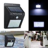 70% off for 30 LEDs Solar Power PIR Motion Sensor Wall Light