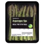 Sainsbury's Asparagus Tips 100g