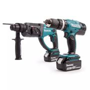 Makita DLX2025M 18V LXT, DHP453Z, 2 Piece Cordless Kit (2 X 4.0Ah Batteries)