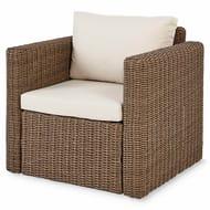 Soron Rattan Armchair Cushions Included