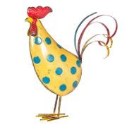 *HALF PRICE* La Hacienda Spotty Rooster Garden Ornament