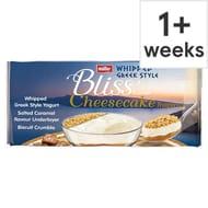 Muller Corner Bliss Cheesecake Salted Caramel/Strawberry 4 X 100g