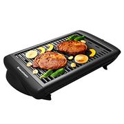 Electric Grill Indoor Barbecue with Large Easy Cleanup Cooking Surface