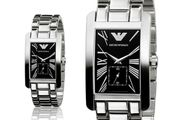 Stainless Steel Emporio Armani Mens Watch