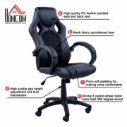 High-Back Leather Gaming Chair Free Delivery