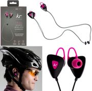 Kitsound Trail Sports Wireless Bluetooth Earphones Pink