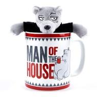 Grizzly Dad Giant Mug & Soft Toy