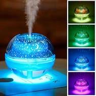 USB Humidifier Creative Crystal Projector Humidifier