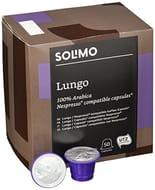 Amazon Brand Solimo Nespresso* Compatible Lungo Capsules 100 Capsules