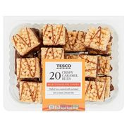 Tesco Crispy Caramel Bites 2 X 20 Packs