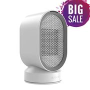 Portable Space Heater Fan with Automatic Oscillation